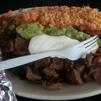 Photo taken at Anna's Taqueria by Jack G. on 9/21/2012