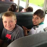Photo taken at On Bus #260 by Gina C. on 6/12/2013