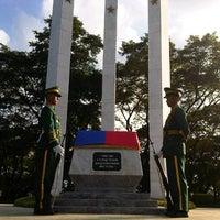 Photo taken at Libingan ng mga Bayani by BJ d. on 11/1/2012