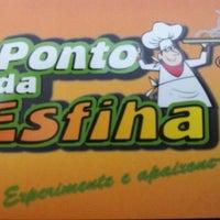 Photo taken at Ponto da Esfiha by Reinaldo P. on 10/31/2013