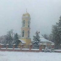 Photo taken at Храм Святителя Николая в Жегалово by Toxin on 11/30/2012