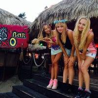 Photo taken at Beach Bar Mexo by Nastya E. on 8/30/2013