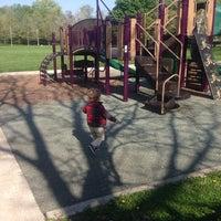 Photo taken at Mason Park Playground by Amelia G. on 5/18/2014