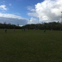 Photo taken at vv harkstede voetbalvereniging by Coen S. on 4/23/2016