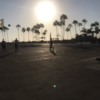 Photo taken at Venice Beach Basketball Courts by Tiffany B. on 8/31/2016