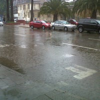 Photo taken at Plaza Mercado by Jorge C. on 5/27/2013