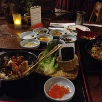 Photo taken at Domo Japanese Country Foods Restaurant by Joey F. on 11/25/2012
