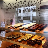 Photo taken at Sprinkles Cupcakes by Daniel P. on 4/24/2013
