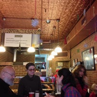 Photo taken at Prince Street Pizza by Daniel P. on 12/20/2012