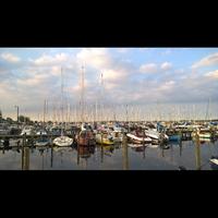 Photo taken at Jyllinge Marina by Sasha N. on 9/15/2016