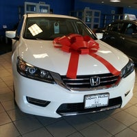 Photo Taken At Open Road Honda By Jhissell H. On 12/3/2012 ...