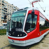 Photo taken at Трамвай №100 by Kath🐿 on 9/7/2015