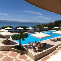 Photo taken at Negroponte Resort Eretria by George X. on 5/25/2013