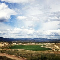 Photo taken at Four Mile Ranch Golf Club by Alyssa C. on 8/25/2013