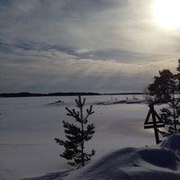 Photo taken at Oulujärvi by Esa K. on 3/24/2017