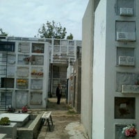 Photo taken at Cementerio Parroquial Caleta Abarca (Cementerio Recreo) by Constanza C. on 10/30/2012