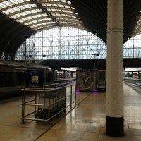 Photo taken at London Paddington Railway Station (PAD) by Michelle C. on 3/16/2013