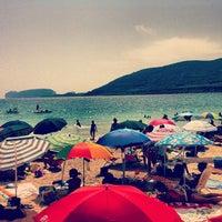 Photo taken at Spiaggia di Mugoni by Marcello S. on 7/28/2013