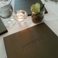 Photo taken at Quatrefoil Restaurant by DetailBoi on 5/17/2014