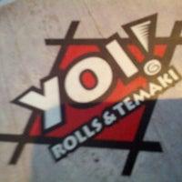 Foto tirada no(a) Yoi! Rolls & Temaki por Gustavo O. em 3/20/2013