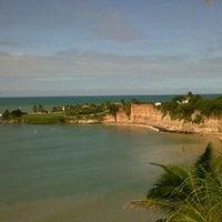 Photo taken at Praia de Pium by Breno S. on 7/20/2013