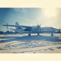 Photo taken at Yakutsk Airport (YKS) by Лина М. on 3/3/2013