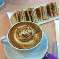 Photo taken at Bean Around Café by Ankh on 2/8/2013