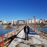 Photo taken at Durrës by Ruslan K. on 1/26/2018
