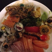 Photo taken at Hakka Sushi by Luiz_Kazan on 7/8/2013