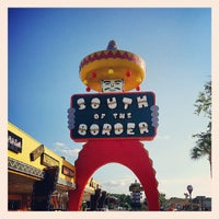 Photo taken at South of the Border by Robert B. on 5/29/2013