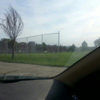 Photo taken at Patterson Park Kickball by TraceyGod M. on 8/16/2013