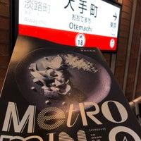 Photo taken at Marunouchi Line Otemachi Station (M18) by shigekym7 on 3/22/2018