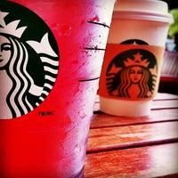 Photo taken at Starbucks by Felicia S. on 1/28/2013