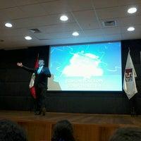 Photo taken at Auditorio Universidad Privada del Norte by Alejandra O. on 6/17/2013