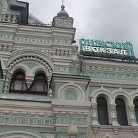 Photo taken at Rizhsky Rail Terminal by Слава on 7/20/2013
