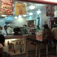 Photo taken at Johnny Rockets by Michael P. on 9/30/2012