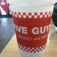 Photo taken at Five Guys by Michael P. on 5/18/2013