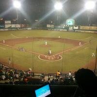 Photo taken at Estadio Nelson Barrera Romellón by Lucian C. on 7/25/2013