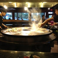 Photo taken at HuHot Mongolian Grill by Nathaniel M. on 9/27/2012