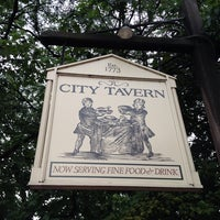 Photo taken at City Tavern by Terry T. on 8/1/2013