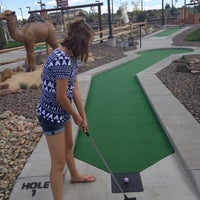 Photo taken at Legends Miniature Golf by Terry T. on 7/30/2013