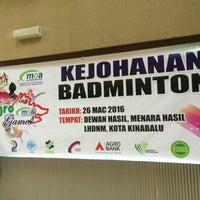 Photo taken at Lembaga Hasil Dalam Negeri (LHDN) by Livia L. on 3/26/2016