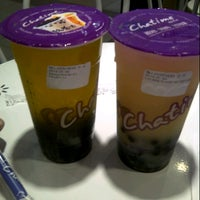 Photo taken at Chatime (Good Tea Good Time) by Vina M. on 7/6/2013