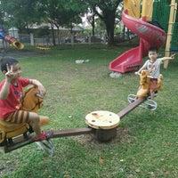 Photo taken at Pusat Komuniti Sri Petaling by Ciknaa on 3/7/2016