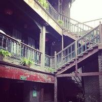 Photo taken at Qianmen Hostel by Jimson T. on 10/9/2013