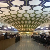 Photo taken at Abu Dhabi International Airport (AUH) by Nasir A. on 6/1/2013