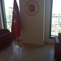 Photo taken at Consulate General of Turkey by Erkan S. on 2/1/2016