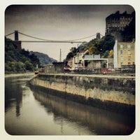 Photo taken at Large Swing Bridge by Martin F. on 10/10/2012