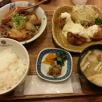 Photo taken at 橋本わっぱ定食堂 by しぐまん on 2/18/2016