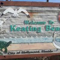 Photo taken at Keating Beach by Natasha G. on 12/11/2012